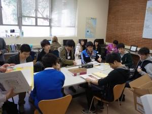 授業風景(L-YREP2014)
